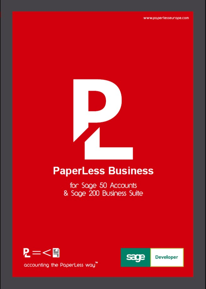PaperLess Professional PaperLess Europe - Paperless invoice software