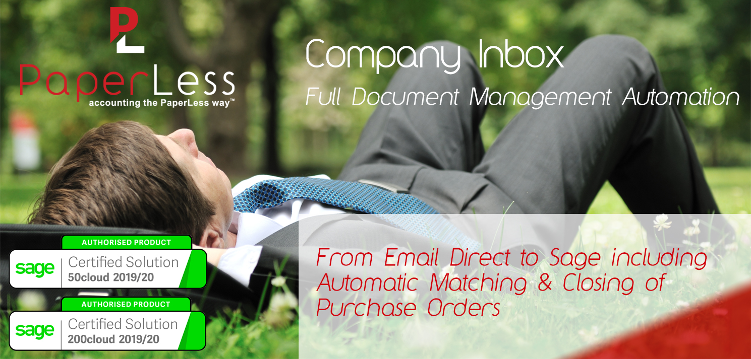 Click here to access PaperLess Company Inbox