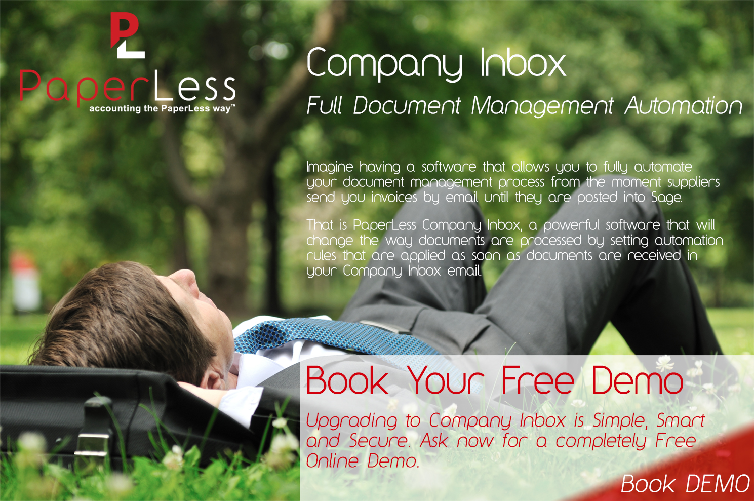 Click here to find out more about PaperLess Full Document Management Automation