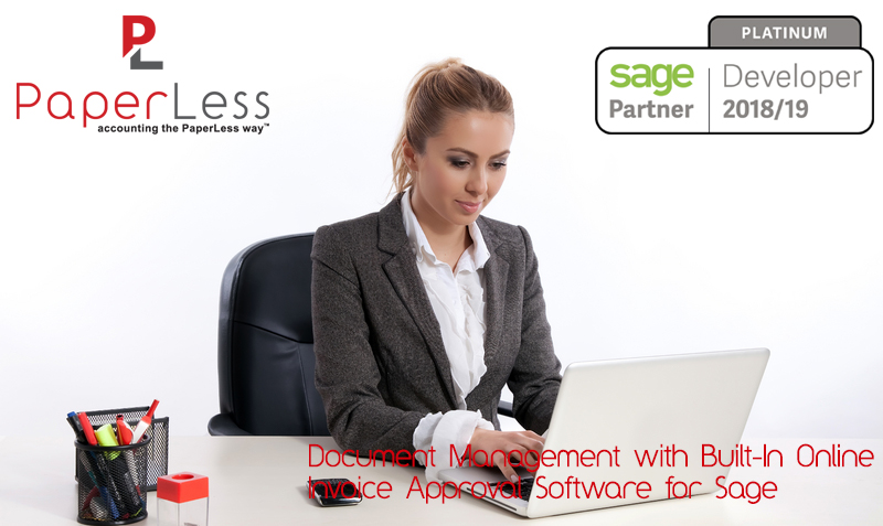 Click here to find out more about PaperLess Online Invoice Approval