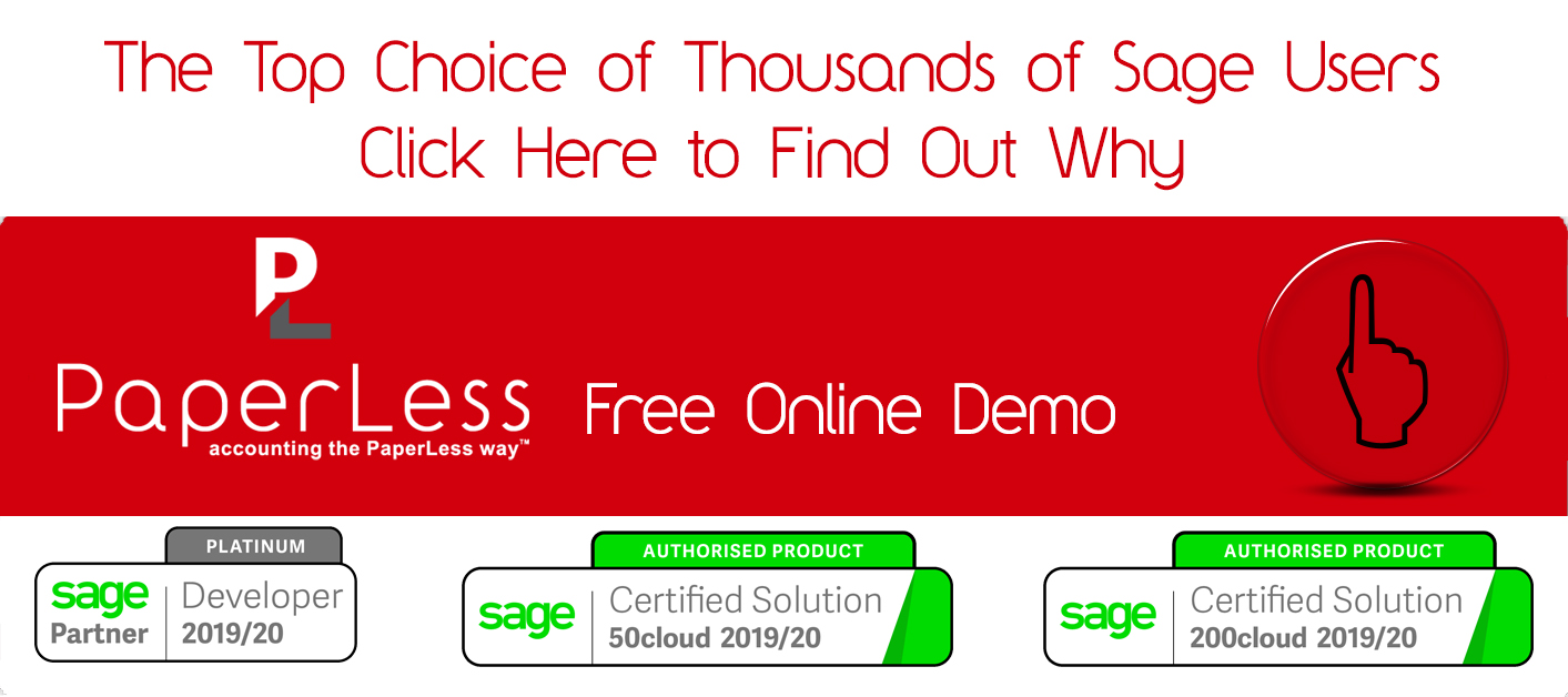 Book Your Free Online Demo of Invoice Recognition for Sage