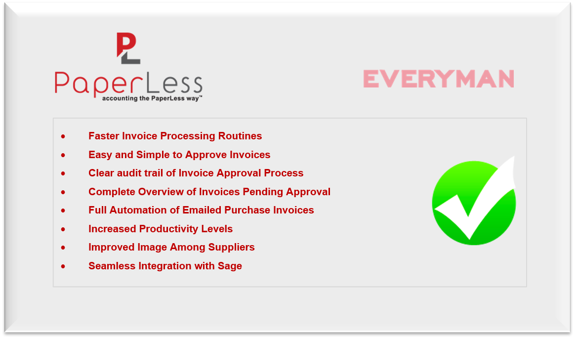Everyman Media Group Increases Productivity By By Approving - Paperless invoice approval system