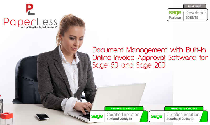 Click to find out more about Online Invoice Approval with Sage