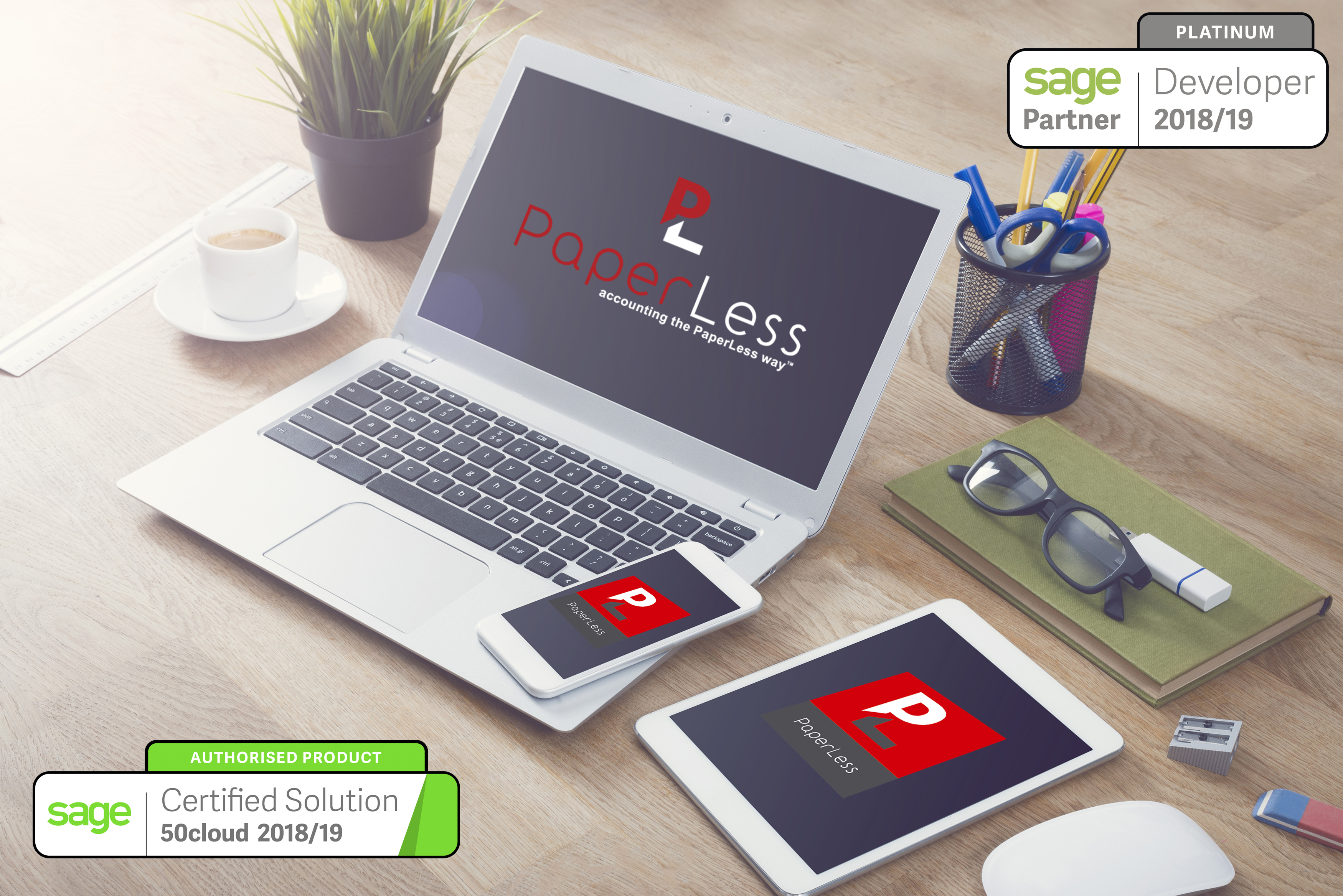 Click here to find out more about PaperLess for Sage