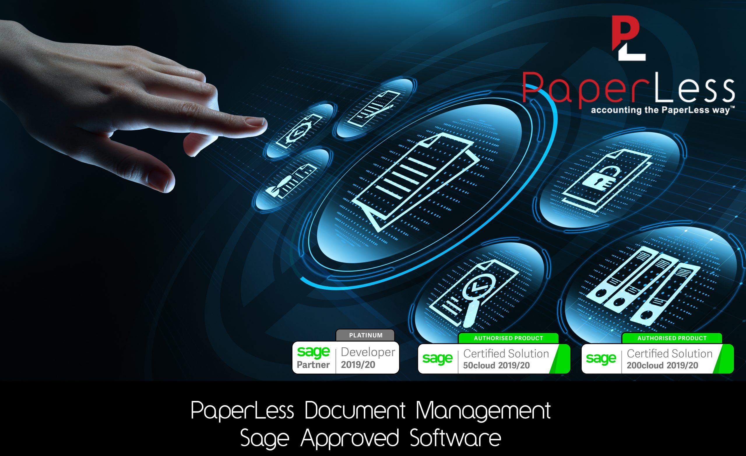 Click here to learn more about PaperLess Document Management