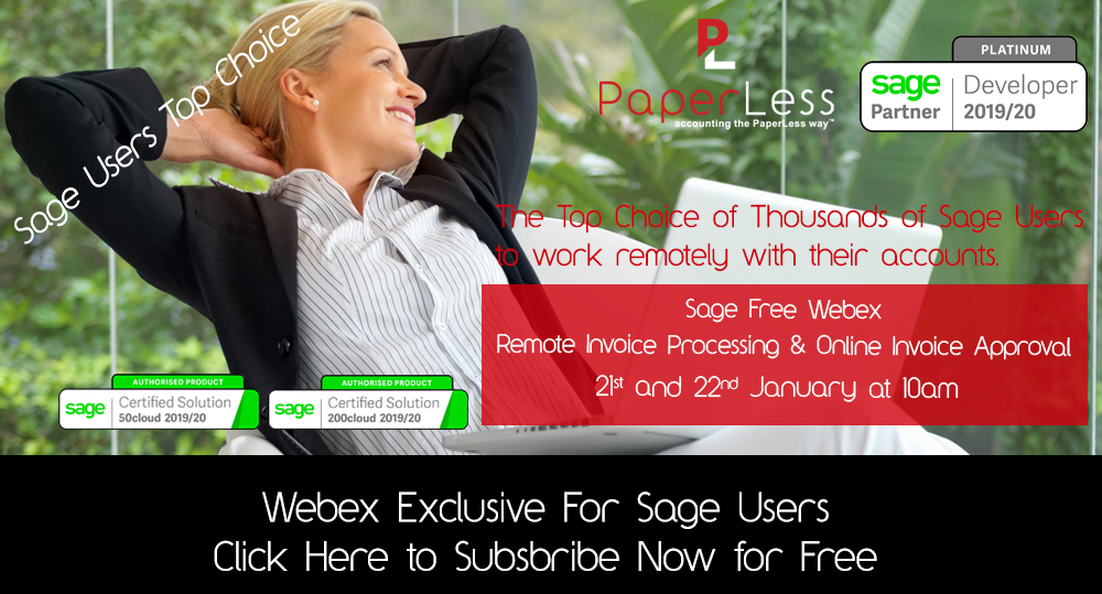 PaperLess for Sage Free WebEx