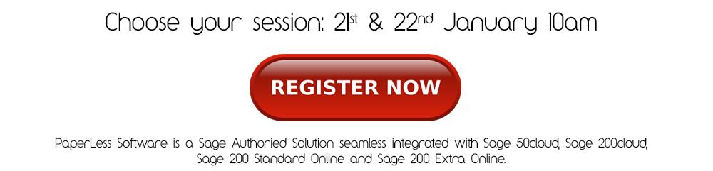 PaperLess Sage Invoice Processing Webex
