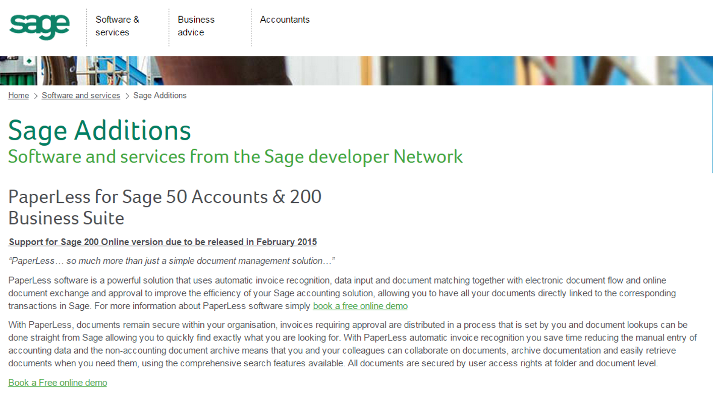Click here to take a look at Sage Additions Catalog.