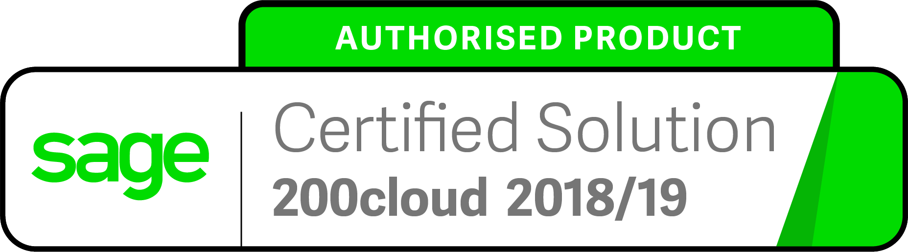 Sage Authorised Product Logo 200cloud