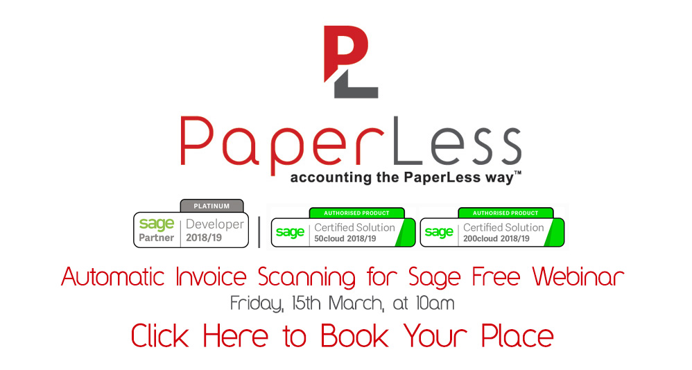 Click here to book your free place on Sage Automatic Invoice Scanning Webinar