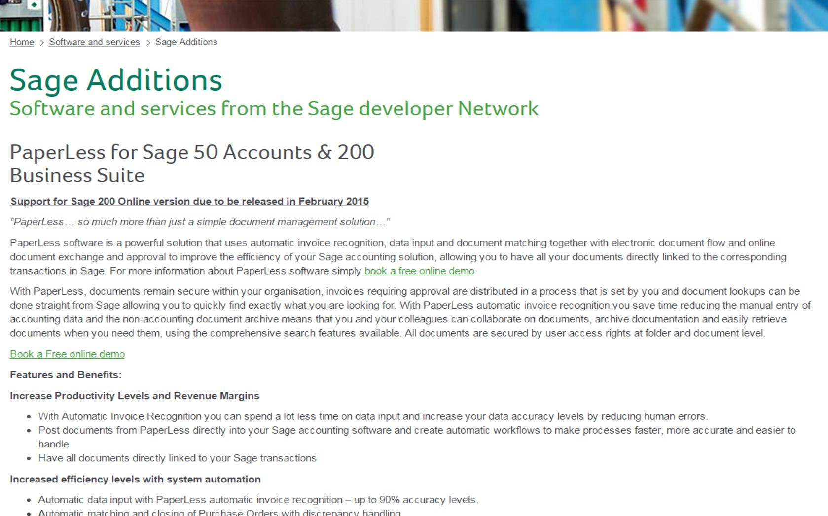 Click here to take a look at Sage Catalog