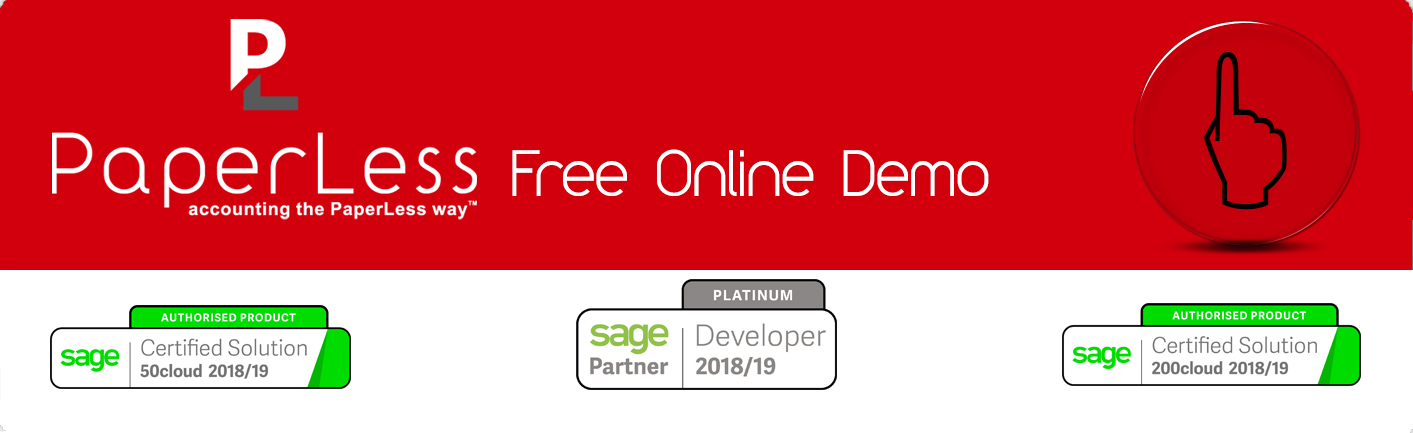 Book Your Free Online Demo of Sage Invoice Scanning Software
