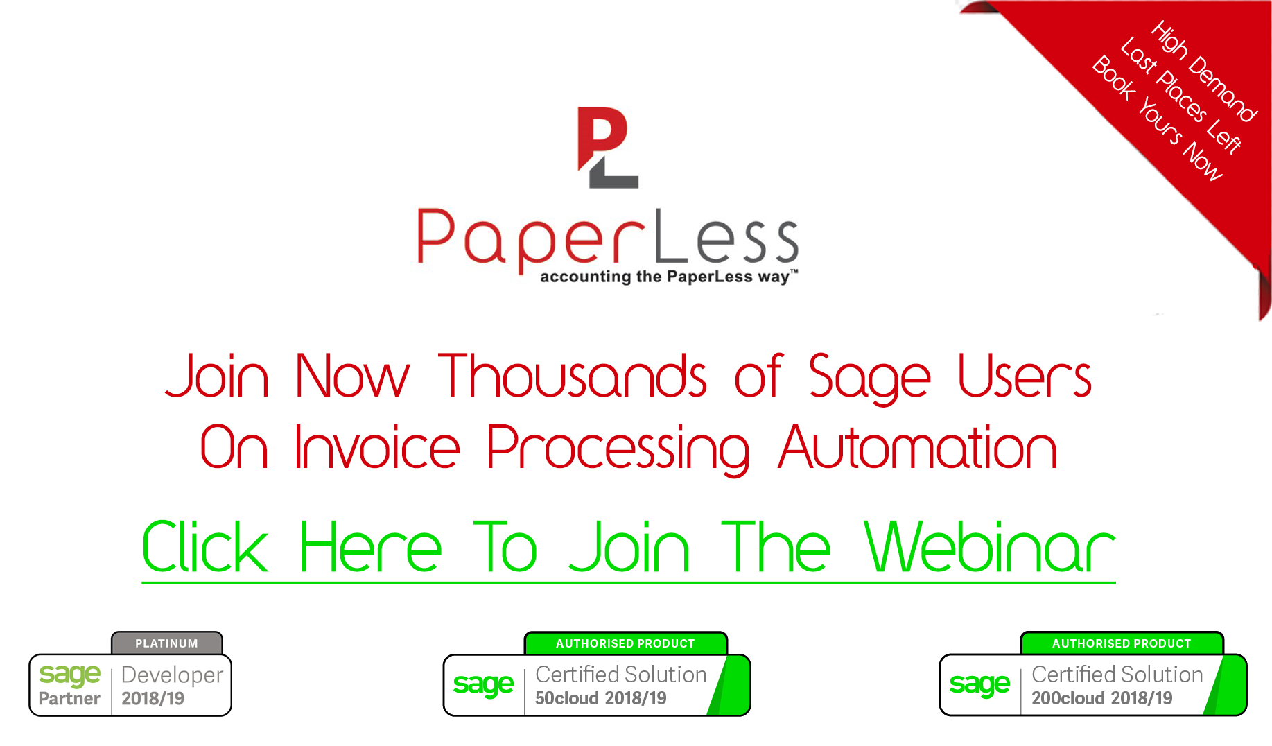 Subscribe here to this Sage Users Free Webinar